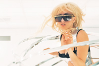 (c) Bad Romance Video Shoot
